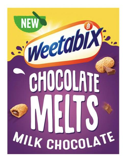 Weetabix Melts Milk Chocolate Cereal 360g - £2 Offer @ Sainsbury's