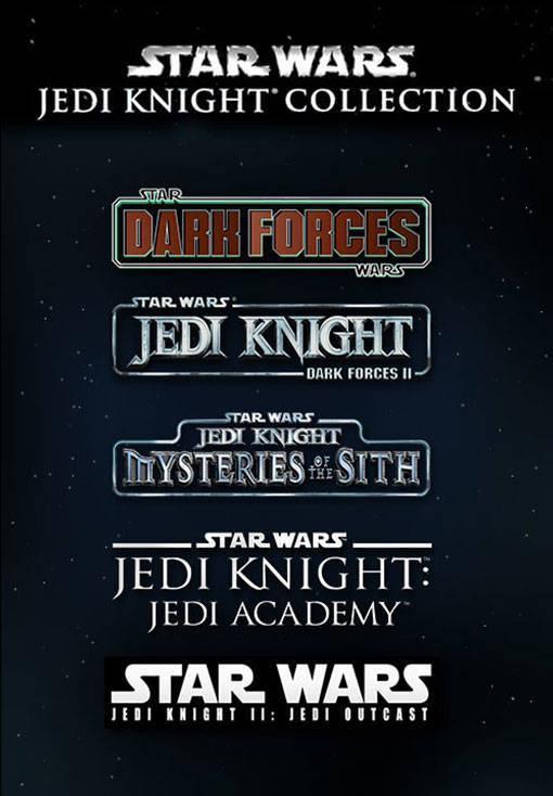 [Steam PC] Star Wars Jedi Knight Collection: Jedi Outcast + Jedi Academy + Mysteries of the Sith + Dark Forces I & II - £3.19 @ Voidu