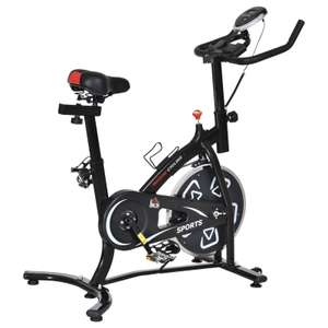 HOMCOM Exercise Training Bike Indoor Cycling Bicycle Trainer with LCD Monitor - £111.99 with code (UK Mainland) @ eBay / 2011homcom