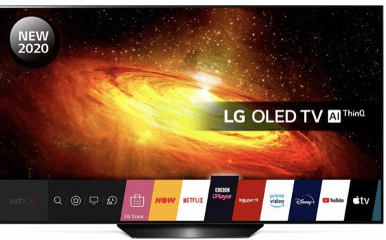 LG OLED65BX6LB 65 Inch Smart 4K Ultra HD HDR OLED TV with Google Assistant & Amazon Alexa - £1,200 @ ElekDirect