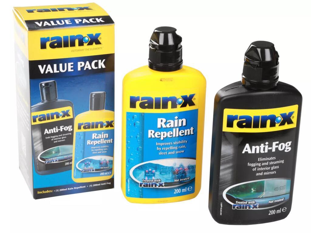 Rain-X Rain Repellent AntiFog Value Pack £5 + Free Click & Collect @ Halfords