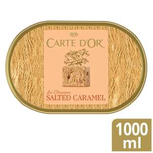 Carte D'or Ice Cream Dessert 1L (All Varieties) - £1.75 (Minimum Basket / Delivery Fee Applies) @ Morrisons