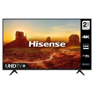 Hisense H50A7100FTUK 50 4K Ultra HD HDR Smart LED TV £289 with code at ebay / hughes-electrical