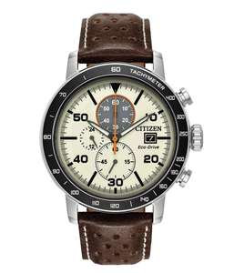 Citizen Men's Chronograph Brown Leather Strap Watch £114.99 + Free click & collect / £3.95 Delivery @ Argos