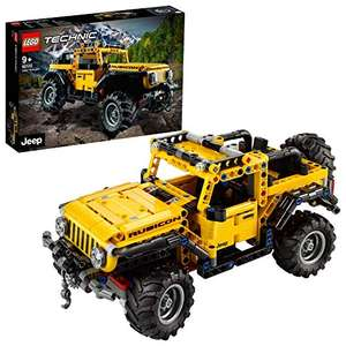 LEGO Technic 42122 Jeep Wrangler 4x4 Toy Car, Off Roader SUV Model Building Set - £36 @ Amazon