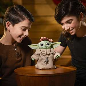 Official Star Wars Grogu The Child Animatronic Edition Toy - 25 sounds/motions - £43.19 delivered with code @ eBay / Hasbro