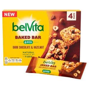 Free Belvita baked bar 40g Dark Chocolate & Hazelnut (600 Daily) @ Belvita