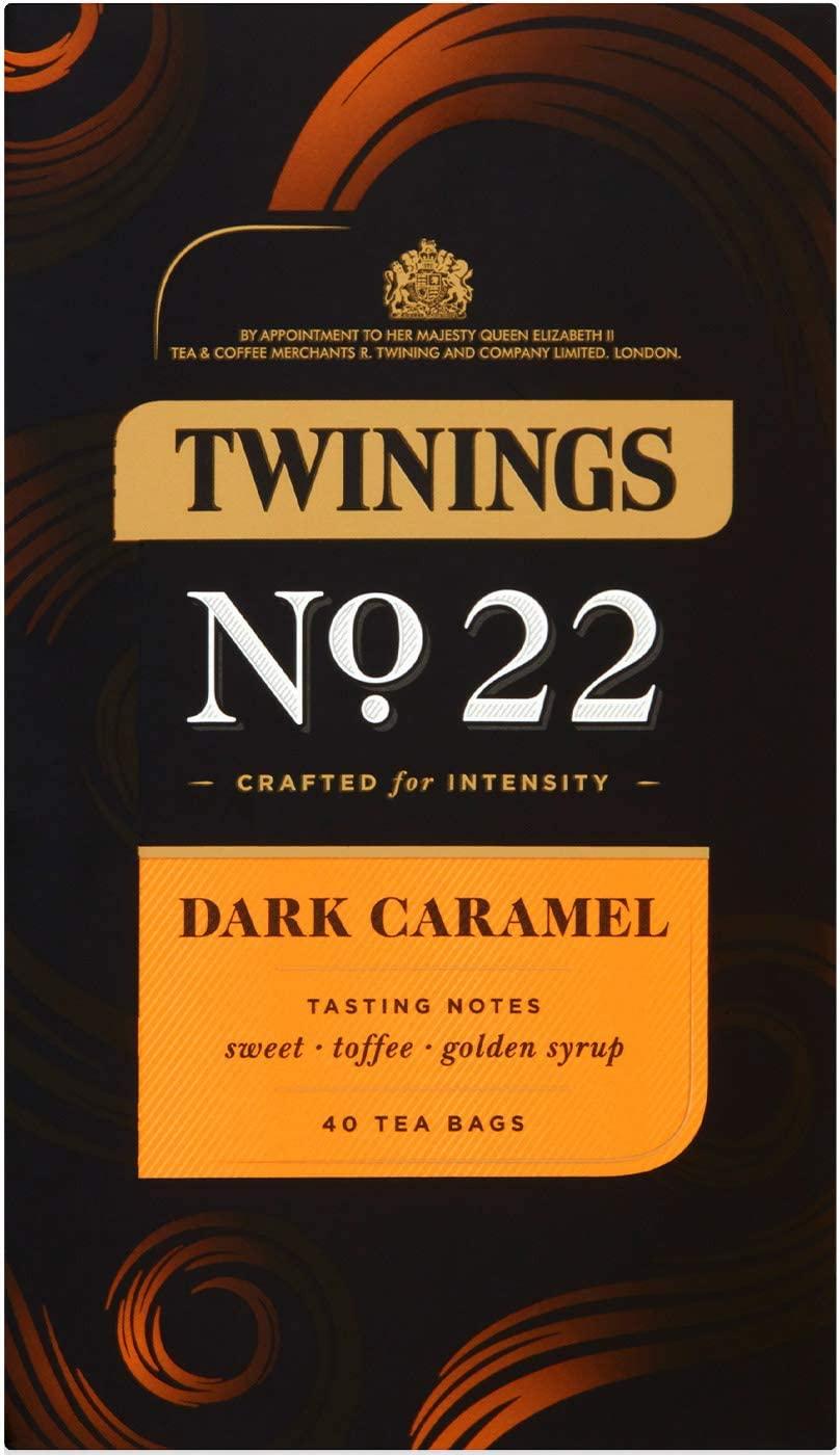 Twinings Dark Caramel / Dark Mint / Dark Grey / Dark Chai 40 Tea Bags £2 each Prime (+£4.49 Non-Prime) @ Amazon