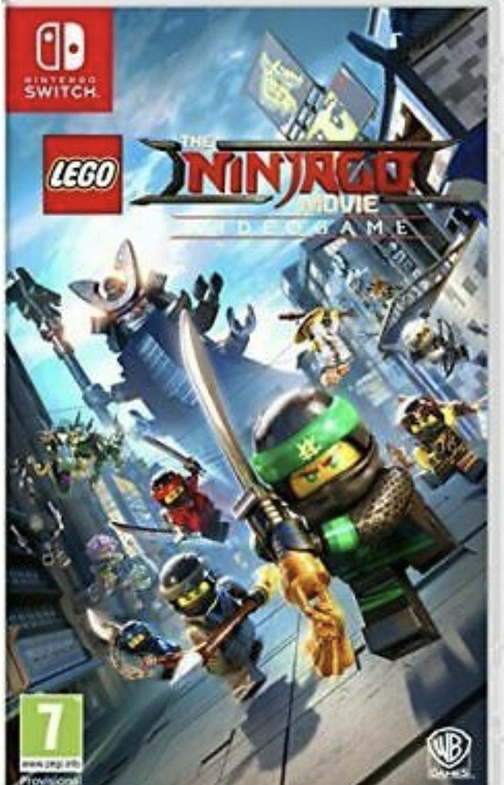 Lego Ninjago Movie Game Nintendo Switch Video Game - Used @ Ebay musicmagpie
