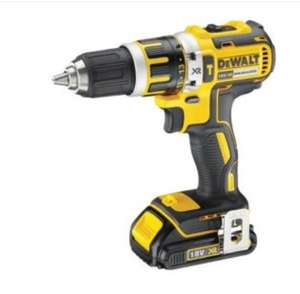 DeWalt brushless combi drill DCD795D2W with 2 2.0ah batteries and bag £131.98 at Costco Warehouse Croydon