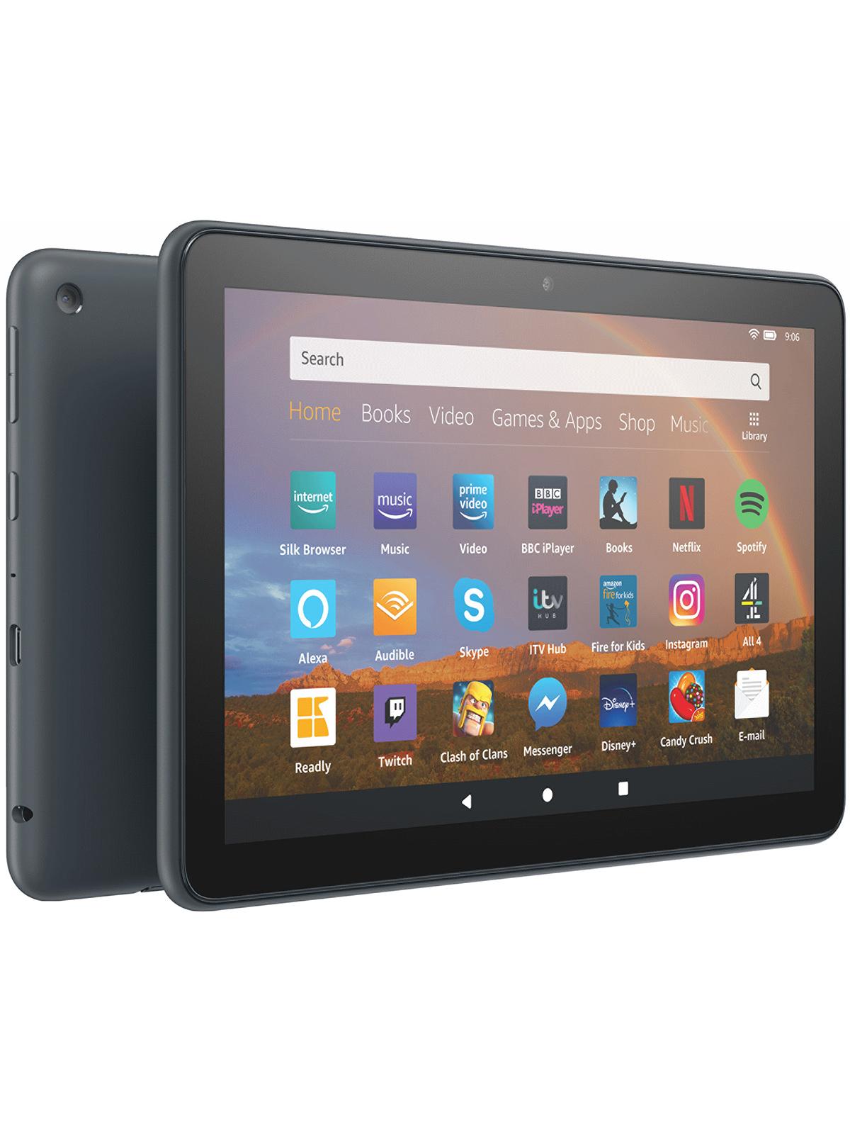 Amazon Fire HD Plus 8″ 32GB Wifi Tablet – Slate - £75 @ ElekDirect