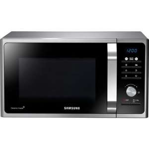 Samsung MS23F301TAS NEW Solo Microwave Oven with LED Display 23L Black & Silver £54.99 at Direct Vacuums