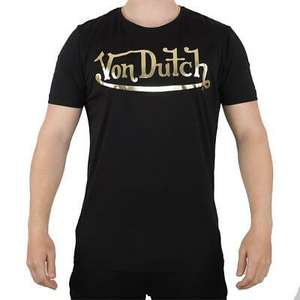 Von Dutch Men's T-shirts in S/M/L - £5.98 Delivered OR get 4 for £19.97 Delivered using code @ Big Brand Outlet / eBay