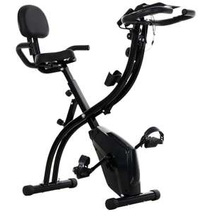 Folding Exercise Bike Upright Cycling Magnetic w/Resistance Band 120kg max Upright sitting option (UK Mainland) £129 at 2011homcom / ebay