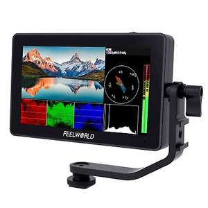 """Feelworld F6 Plus 5.5"""" Touch Screen 4K HDMI 3D LUT Camera DSLR Field Monitor £127.20 with voucher cameracentreuk / ebay"""