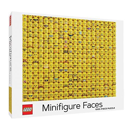 Lego Minifigure Faces Puzzle Hardcover £12.95 (+£4.49 Non Prime) at Amazon