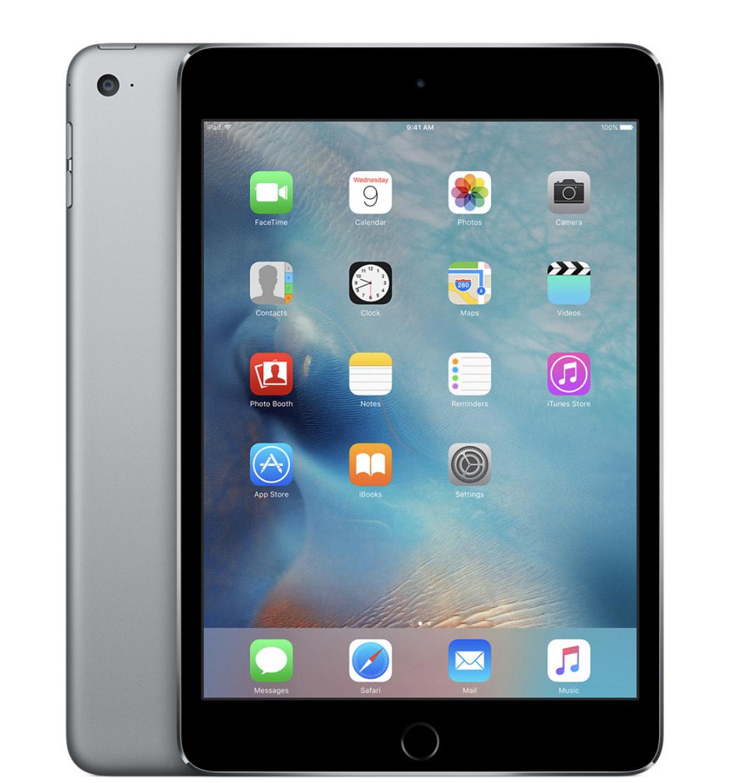 Apple iPad Mini 4 128GB WiFi - Space Grey - Very Good Refurbished - 12 Months Warranty £234.99 Music Magpie