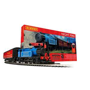 Hornby Night Mail Train Set £79.99 delivered, using code @ eBay / The Entertainer