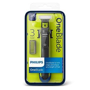 Philips Oneblade Hybrid Trimmer for Face QP2520/25 - £19.99 Prime (+£4.49 non Prime) Delivered @ Amazon