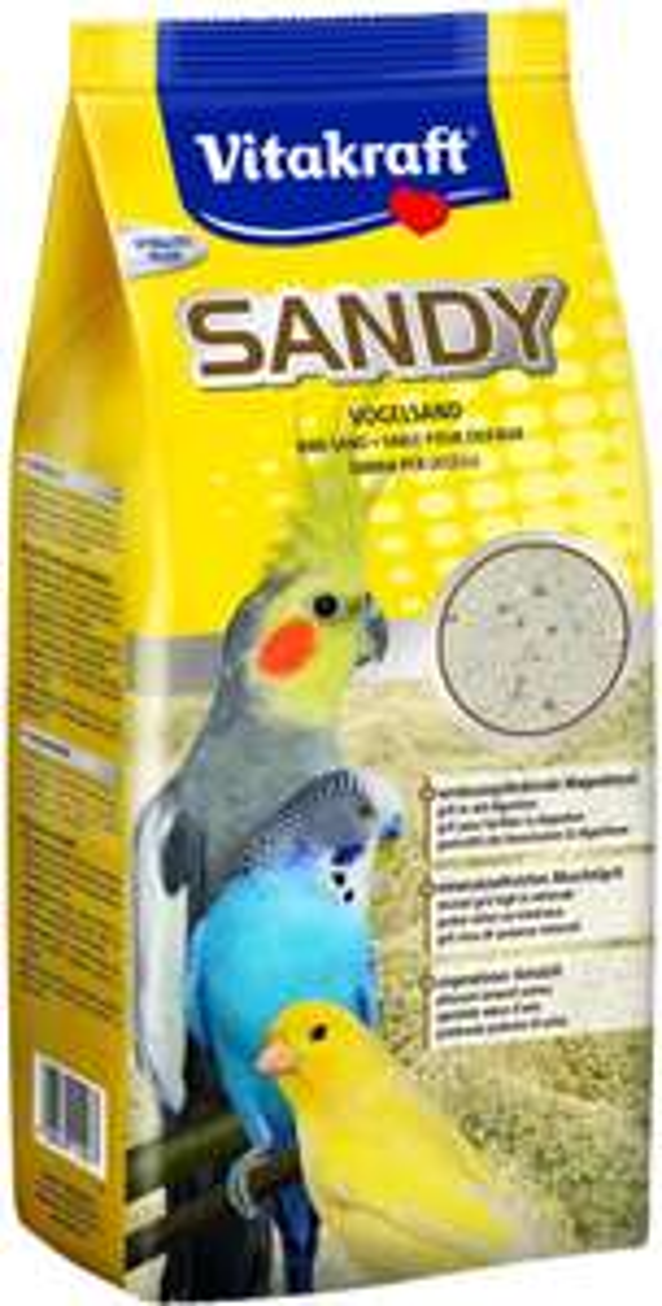 Vitakraft Sandy, bird sand 3 2.5 kg bag only 90p Prime +£4.49 Non Prime (UK Mainland) Sold by Amazon EU @ Amazon