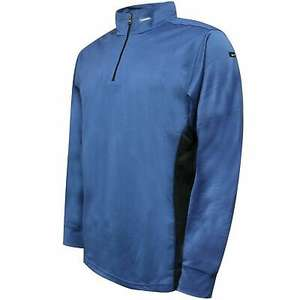 Nike Mens Quarter Zip Track Top Casual Sports Sweat Jacket Blue £12.79 Delivered (With Code) @ Sportitfirst / eBay