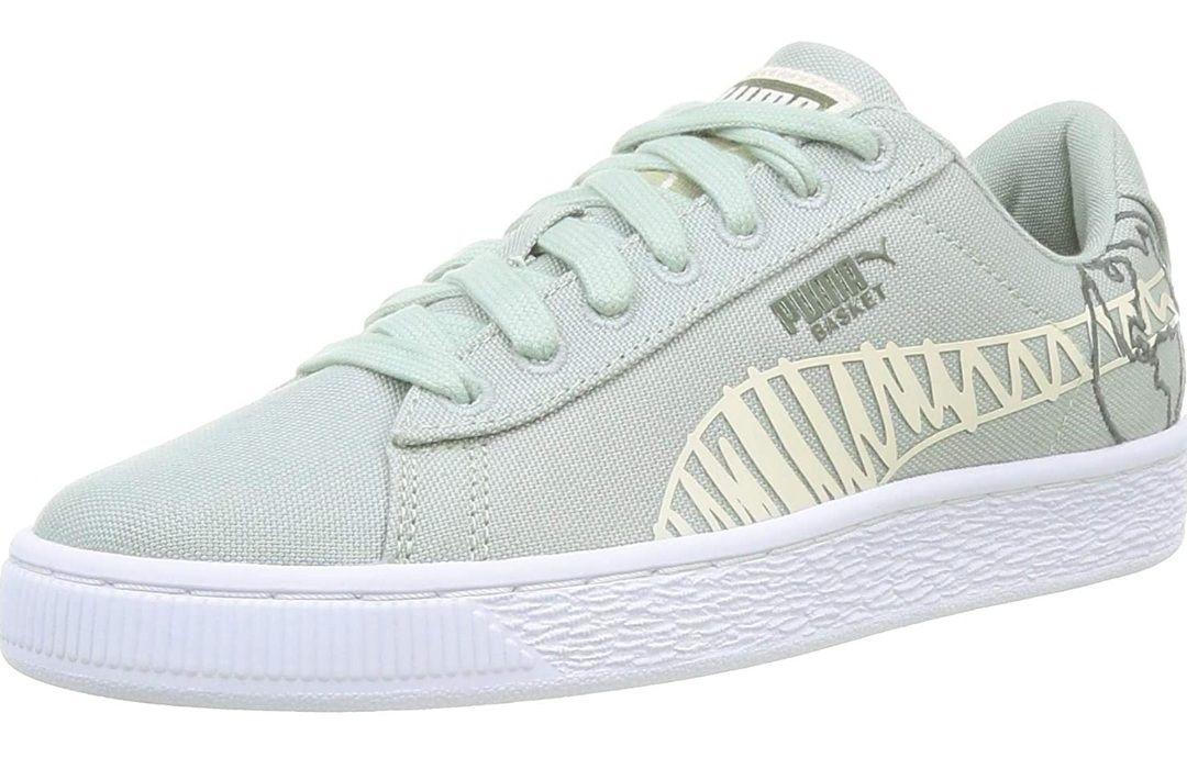 Puma kids basket canvas sneakers size 4 UK now £9.47 prime / £13.96 non prime at Amazon