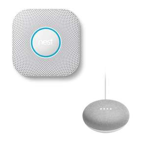Nest Protect [Battery Powered] + Google Home Mini - £79 Delivered (UK Mainland) @ BT Shop