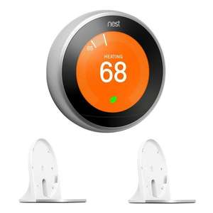 Nest Learning Thermostat Gen 3 (Steel) + 2x Thermostat Stands £129 Delivered (UK Mainland) @ BT Shop