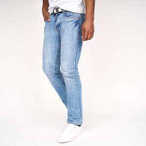 Crosshatch Baltimore Belted Jeans - 3 colour options - now £16.99 delivered using code @ Crosshatch