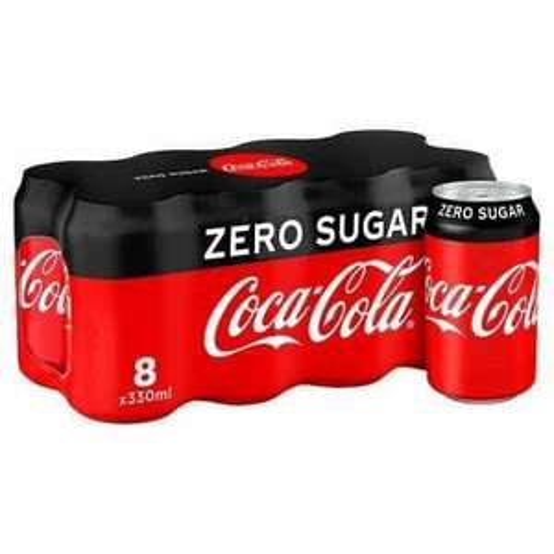 Coke Zero/Vanilla Zero/Cherry Zero 8 x 330ml Can Packs are £2.50 @ One Stop Convenience Stores