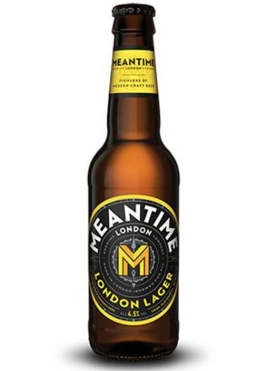 Meantime craft London lager 330ml bottles 79p in Home bargains Ashton