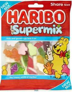Haribo Supermix/Giant Strawbs/Chamallows/Starbeams 160g Packs are 90p @ One Stop