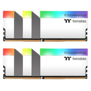 TOUGHRAM RGB WHITE 64GB (2x32GB) DDR4 3600MHz C18 Memory £291.67 delivered at Ebuyer