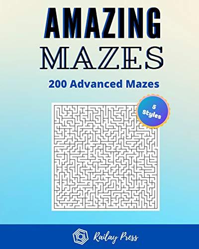 The Amazing Mazes 200 - Free Kindle Edition Ebook @ Amazon