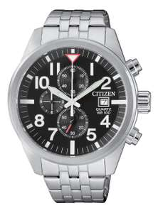 Citizen Men's Chronograph Stainless Steel Bracelet Watch - £74.99 + free Click and Collect @ Argos