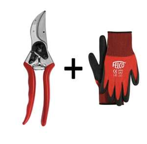 Felco Model 2 Original Secateurs with free Felco Gloves - £41.92 delivered using code @ World of Felco