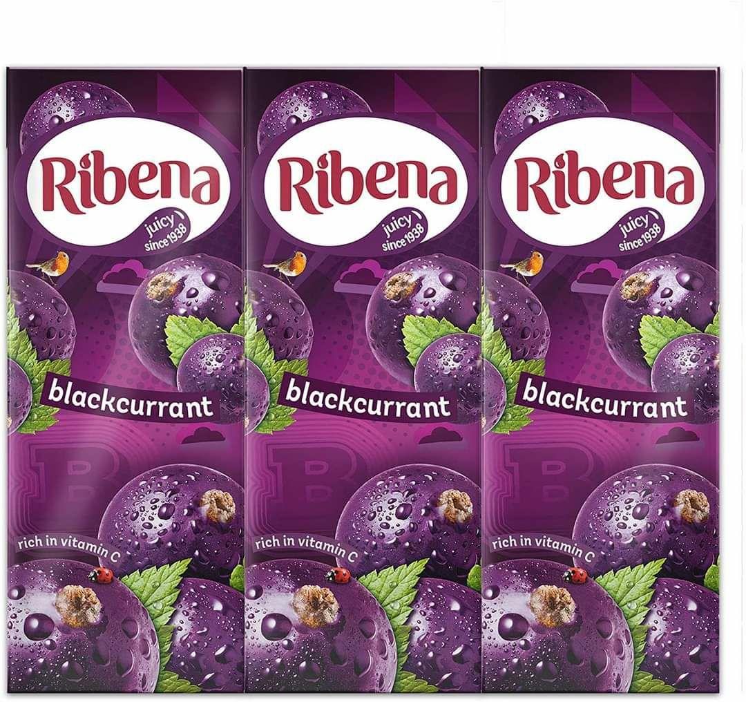 Ribena Blackcurrant/Strawberry 250ml Cartons are 19p @ Home Bargains Oldham