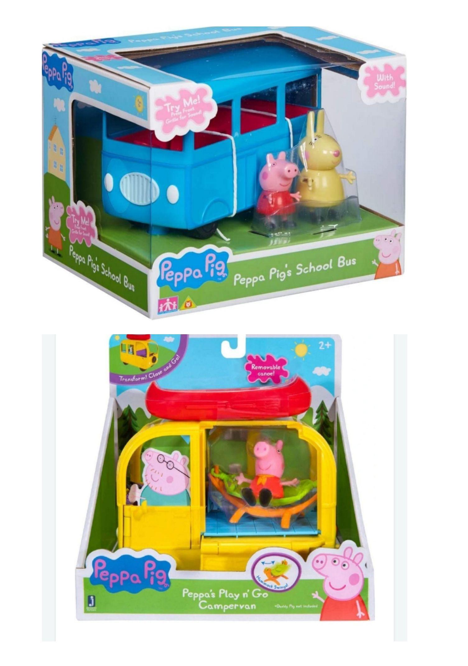 Peppa pig toys £5 each found instore b&m Sunderland