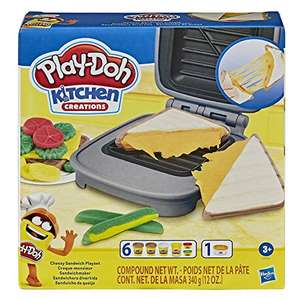 Play-Doh Kitchen C £5 reations Cheesy Sandwich Play Food Set £5 (Prime) + £4.49 (non Prime) at Amazon