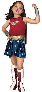 Rubie's Official Children's Deluxe Wonder Woman - Fancy Dress Costume, 147 cm - Large, 8-10 £12.99 (Prime) + £4.49 (non Prime) at Amazon