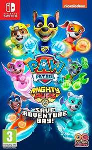 Paw Patrol Mighty Pups Save Adventure Bay! (Switch) £18.28 delivered with code at boss_deals eBay