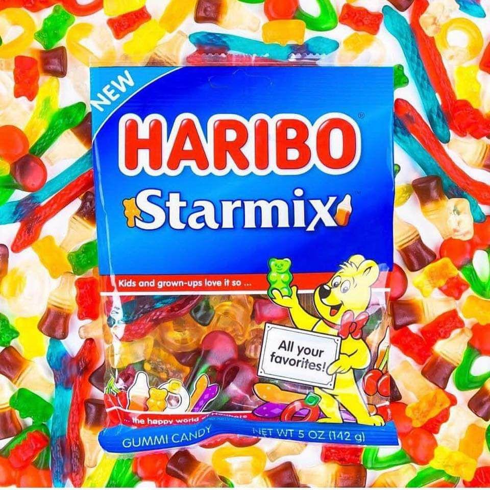 Haribo Starmix/Supermix/Tangfastic/Superbeam/Giant Strawbs/Jelly Babies etc 160g Packs are 79p @ Tesco