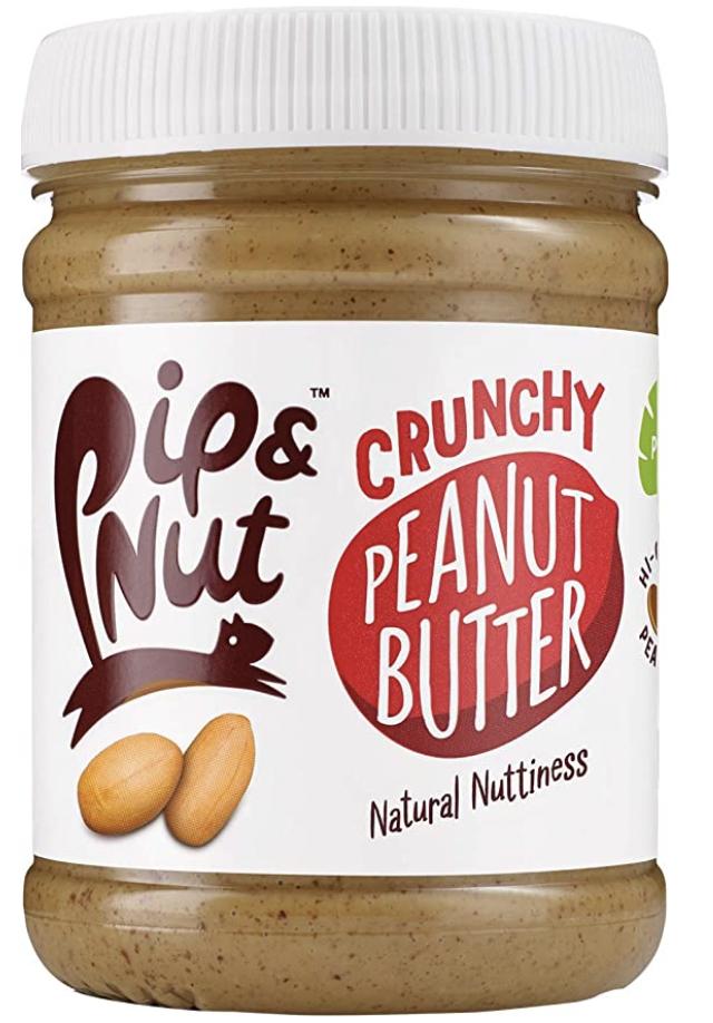 Pip & Nut Crunchy Peanut Butter, 6x255g - £6.90 (+£4.49 Non-Prime) @ Amazon