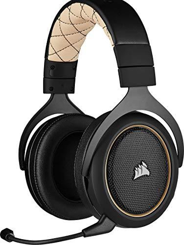 Corsair HS70 Pro Wireless Gaming Headset, Cream - £69.99 @ Amazon
