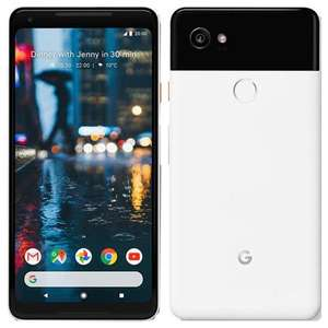 "Pixel 2 XL smartphone, 6"" AMOLED, 64GB, 12 MP Camera, upgradable to Android 11, 12 month warranty. Pristine - £100.79 (code)@ eBay / xsitems"
