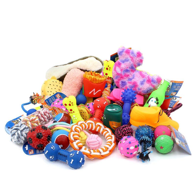 12 Piece Assorted Dog Toy Bundle £10 @ weeklydeals4less