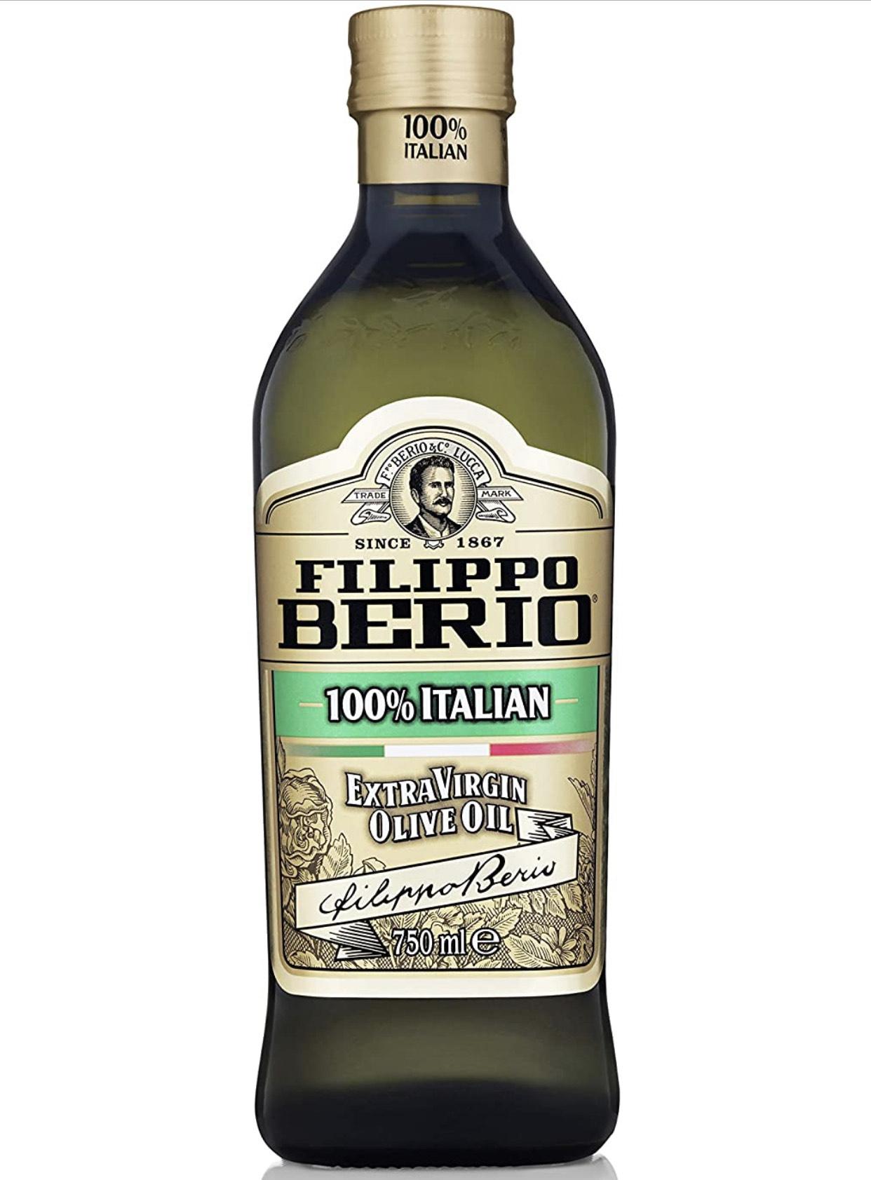 750ML Filippo Berio Extra Virgin Olive Oil reduced to 20p at Asda Govan