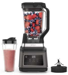 Ninja 2-in-1 Blender with Auto-iQ (BN750UK) 1200 W, 2.1 Litre Jug, 0.7 Litre Cup, Black/Silver £99 Amazon