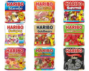 Various Haribo sweet bags 175g 79p @ Morrisons (Inc starmix/ tangfastics/supermix/strawberry/goldbears/squidglets/Pontefract/vegetarian mix