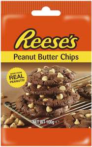 Reese's Peanut Butter Baking Chips 100g £1 @ Asda